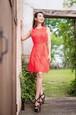 passion color dress