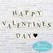 ディスプレイ用カード HAPPY  VALENTINE'S DAY♥《Sサイズ》