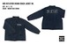 KOB REFLECTOR DENIM COACH JACKET IBL