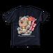 <ネイビーTシャツ 両面>聖火みーちゃん