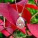 Yellow Diamond Diamond Drop Platinum Pendant