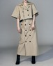 【人気商品】TRENCH COAT SKIRT SET UP