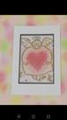 ポストカード天使のハート