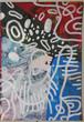 美/東京で制作の作品「ゾウリムシ第一世代#90」を送ります!