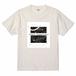 Tシャツ【share happiness】バニラホワイト