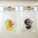 "Kazzrock Original""DUCKLE"" Sticker S (RIGHT)"