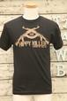 HIPPY KILLER(ヒッピーキラー)Tシャツ Sサイズ ピストル 黒 【BIK-t-24】