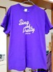THE PATS PATS「SING AND PRETTY」Tシャツ パープル