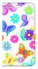 【iPhoneX】 Butterflies Dance 蝶のダンス 手帳型スマホケース