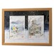 旅猫ミケ 冬の摩周湖 冬の時計台