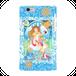 #015-003 iPhone8対応 綺麗系・ファンタジー系《愛の女神様》 iPhoneケース・スマホケース 作: 曄月 陽 Xperia ARROWS AQUOS