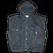 """""""90s Zip Code"""" Vintage Hooded Denim Best Used"""