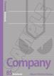 Company B5ノート