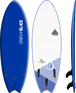 Storm Blade 5ft6 Swallow Tail Surfboard / Navy