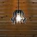 「黒ねこと白ねこ」木製ペンダントライト 照明 インテリア