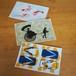 シルクスクリーンポストカードセット(D) / Original screen printed Card Set D