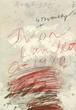 Cy Twombly / YVON LAMBERT ポスター 1980