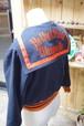 カワイイ♪ レディースファッショントレンド♪ 50's BUTWIN セーラー スタジャン 黒×オレンジ