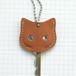 【送料無料】猫の本革キーカバーS KCS101