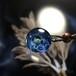 きらめくガラスの宇宙ペンダント/【訳あり品】202011208