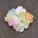 小花のブローチ