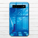 #068-003 モバイルバッテリー おすすめ iPhone Android かわいい おしゃれ 男性 向け クジラ 海 スマホ 充電器 タイトル:放課後の夢 作:アスマル