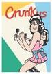《JUN OSON イラストポストカード》CJ-10/ Crunks