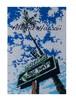 Aloha Hawaii ポストカード 絵画:ホテルストリート(Hotel St.)