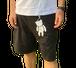 【SKANDHAL】BEAR ハーフパンツ【ブラック】【新作】イタリアンウェア【送料無料】《M&W》