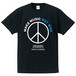 MAKE MUSIC NOT WAR(T-SHIRT) BLUE PRINT