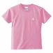 〚KIDS〛5.6oz. ハイクオリティーTシャツ_KOBEイカリマーク_ピンク