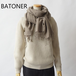 BATONER/バトナー・Cashmere Bias Stall