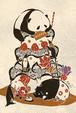 ポストカード『動物たちの祝福』