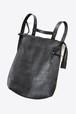 ミニマルで美しいデザイン【Ytn №7】Unisex  Leather Backpack 072Y - Black