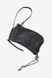 上質なレザーを使用したミニマルなデザインウォレット【Ytn №7】Unisex Washed Leather Wallet -BLK