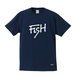BURITSU FiSH Tee : Navy
