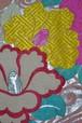 【オリジナル京袋帯】アンティーク帯リメイク☆ピンク流水に椿