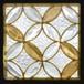 本物のステンドグラス ピュアグラス ステンドグラス (株)セブンホーム  SH-D43