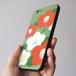 椿の背面ガラス+ソフトケース #iPhoneXs/XR対応