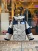 KIDS:OFFICIAL TEAM【オフィシャルチーム】WINTER CLOTHING JACKET(ベージュ/90〜140cm)ショート丈ダウンジャケット