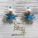 ◆SALE ¥300 OFF◆ Coralreef motif Pierce -Cotton Pearl-