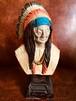 SITING BULL シッティングブル 置物 オブジェ インディアン ラコタ スー族