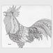 手帳型(帯なし)サイズ(L):kazue.M_014「鳥」
