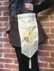 刺繍紋章入り騎士のベルト ゴールド