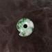 糸魚川翡翠 まがたま 緑まる勾玉  13.4g