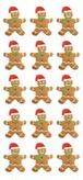 Gingerbread Boy Puffy sticker /PH