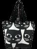大きな黒猫トートバッグ