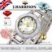 【J.HARRISON】CCL-001WH 腕時計 セラミック レディス