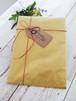 [ 贈り物に ]ラッピングサービス 茶紙袋×紙紐(全3色からお選びください)