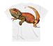 フトアゴヒゲトカゲ(フルグラフィック)Tシャツ Made in Japan 日本サイズ